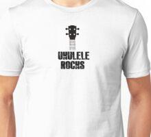 Ukulele  Rocks !! Unisex T-Shirt