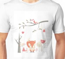 Christmas baby fox 03 Unisex T-Shirt
