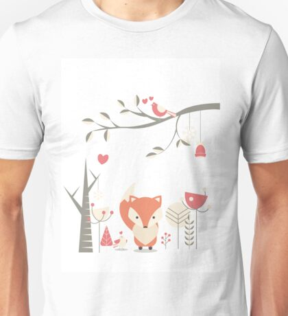 Christmas baby fox 03 Unisex T-Shirt