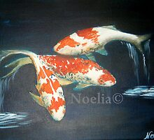 Koi Fish  by Noelia Garcia