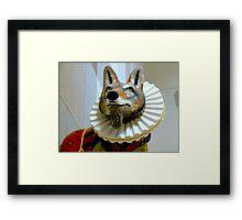 Sir Wolfter Raleigh  Framed Print