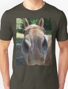 Very Friendly Brown Horse Close Up T-Shirt