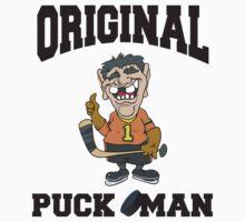 Hockey Puck Man by SportsT-Shirts
