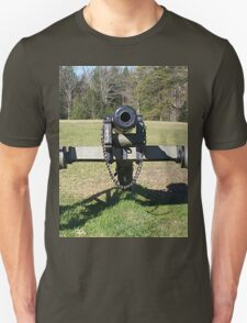 Civil War Cannon Ready For An Old School Whoopin T-Shirt