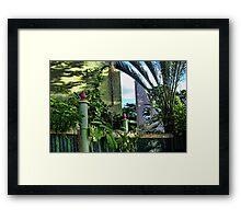 The Modern Neighbor ONE Framed Print