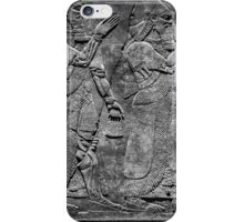 King Ashurnasirpal II and genius iPhone Case/Skin