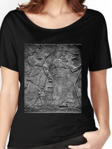 King Ashurnasirpal II and genius Women's Relaxed Fit T-Shirt