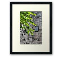The Hidden Window at Fort Charlotte in Nassau, The Bahamas Framed Print