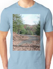 Rustic Park Road in the Appalachia Mountains Unisex T-Shirt