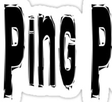 Ping Pong Sticker