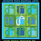 Infinite Path Martial Arts - Logo Panel by Robyn Scafone