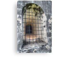 The Window at Fort Charlotte in Nassau, The Bahamas Canvas Print