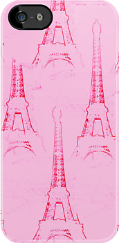 psychedelic tour eiffel  by faithie
