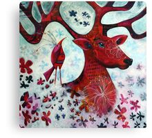 O Deer Canvas Print