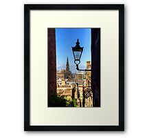 The view from Advocate's Close Framed Print