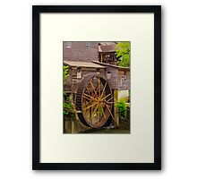 an old mill in the southern  Framed Print