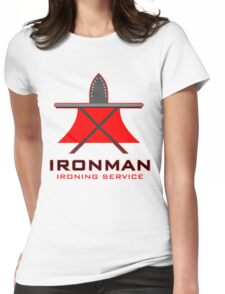 Ironman Ironing Service Womens Fitted T-Shirt