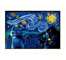 Starry Berk Art Print