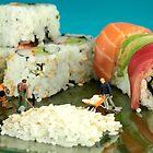 Making Sushi by Paul Ge