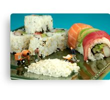 Making Sushi Canvas Print