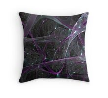 Tangled Web Throw Pillow