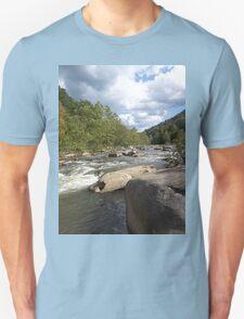 Gorgeous Rustic Appalachian River Scene T-Shirt