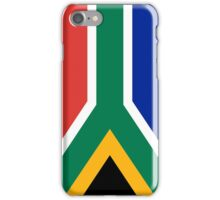 National flag of the Republic of South Africa Authentic version iPhone Case/Skin