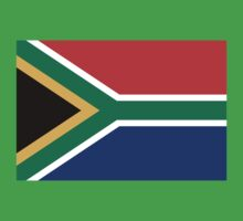National flag of the Republic of South Africa Authentic version One Piece - Short Sleeve