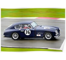 Aston Martin DB2/4 No 36 Poster