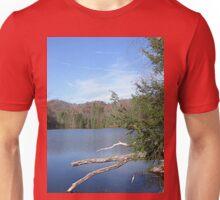 Nice & Relaxing West Virginia Mountain Lake Scene Unisex T-Shirt