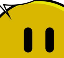 No Smiley - Meh Sticker