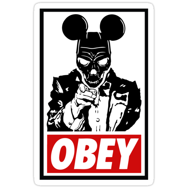 Obey Mickey Mouse Funny Quotes QuotesGram