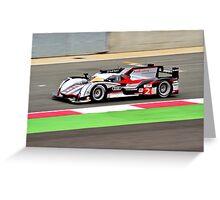 Audi Sport Team Joest No 2 Greeting Card