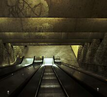 Metro / Montreal / Canada by Tunde Kulina