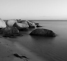 Stones in the sea by Falko Follert