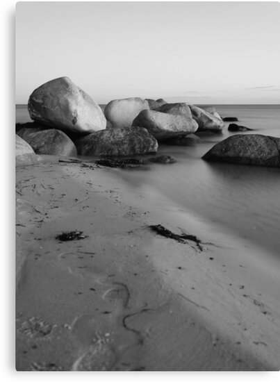 Stones in the sea by Falko Follert