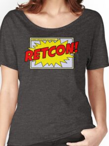 RETCON! Women's Relaxed Fit T-Shirt