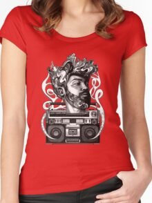 soLo Beats Women's Fitted Scoop T-Shirt
