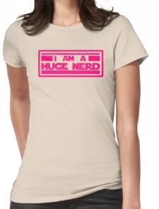 Far Far a-Nerd (ladies) Womens Fitted T-Shirt
