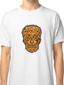 Sugar Skull SF Halloween on blk Classic T-Shirt
