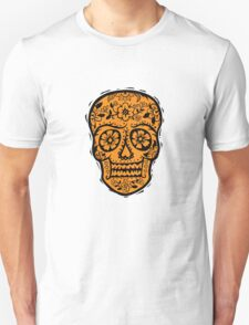 Sugar Skull SF Halloween on blk T-Shirt
