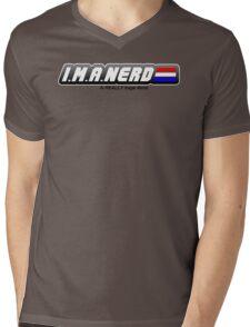 I.M.A. Nerd Mens V-Neck T-Shirt
