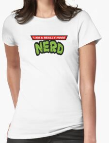 Teenage Mutant Nerdles Womens Fitted T-Shirt