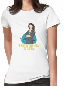 Shoulda Listened To Ripley Womens Fitted T-Shirt