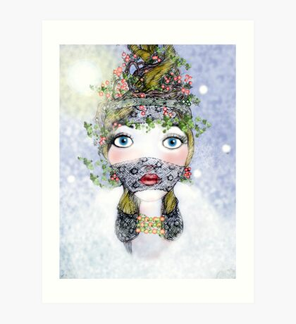 Ivy Holly  Art Print