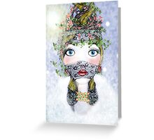 Ivy Holly  Greeting Card