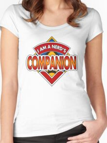 Dr Nerd's Companion Women's Fitted Scoop T-Shirt