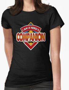 Dr Nerd's Companion Womens Fitted T-Shirt