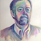 Portrait of Lawrence by Karin Zeller