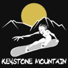 Kestone, Colorado Snowboarding Dark by SportsT-Shirts
